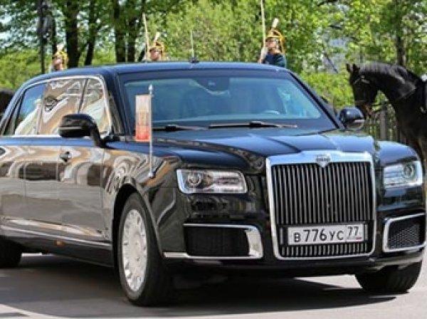 """""""Для тех, кто мечтал заглянуть в багажник Путина"""": видео с новым лимузином президента вызвало фурор"""