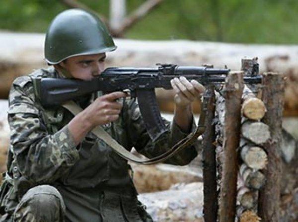 Украинцев насильно призывают на сборные армейские пункты