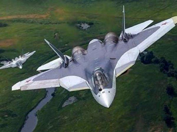 В Сеть попало видео уникальных маневров четырех новейших Су-57