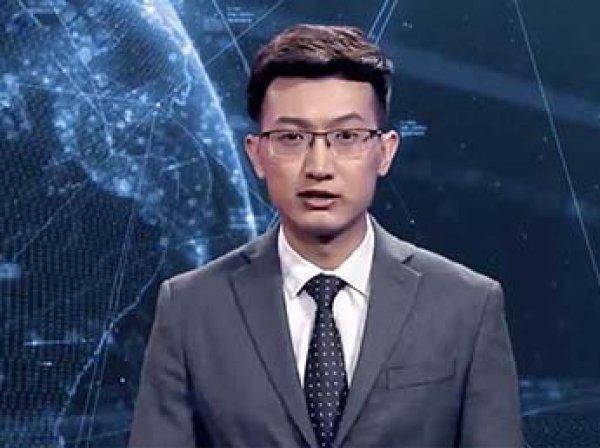 В Китае показали первого в мире киберведущего