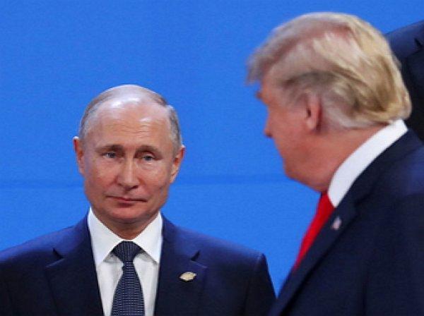 """""""Взгляд года"""": Путин не поздоровался с Трампом на G20"""
