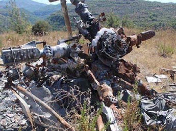 СКР впервые показал фото и видео с места падения Су-24 в Сирии