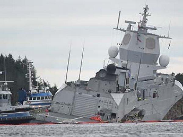 НАТО утопило фрегат за  млн (ФОТО, ВИДЕО)
