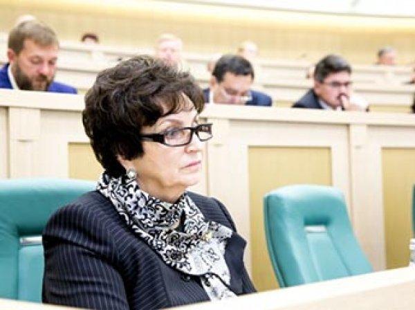 """Брянский сенатор пристыдила недовольных питанием на 3,5 тыс. рублей """"ужасами войны"""""""