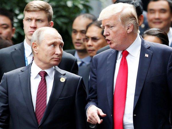 Стало известно, о чем говорили Путин и Трамп в Париже