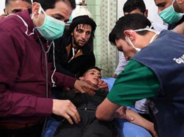 Химатака в сирийском Алеппо: число пострадавших перевалило за 100 человек