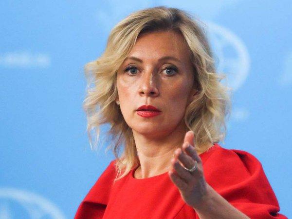 """""""Какие принципы у Европы?"""": Захарова резко осадила Меркель за ее заявление о санкциях"""