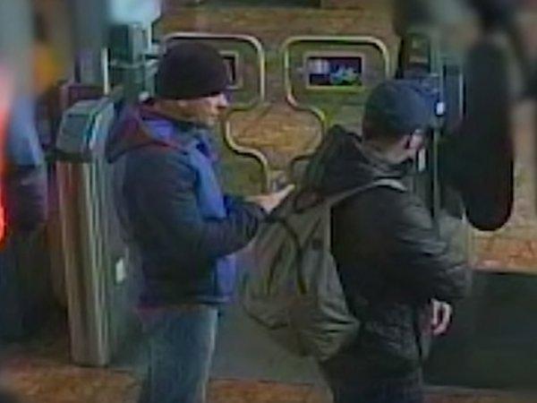 Британская полиция показала новое видео с Петровым и Бошировым в Солсбери