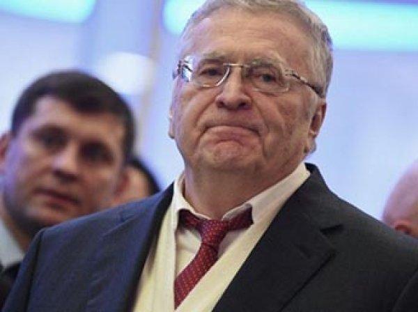 Жириновский в ответ на запрет въезда для мужчин предложил опустошить Украину