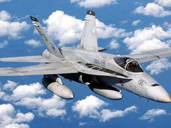 В Японии разбился военный истребитель США