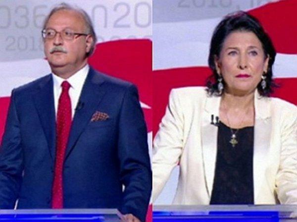 Обнародованы первые данные экзитполов президентских выборов в Грузии