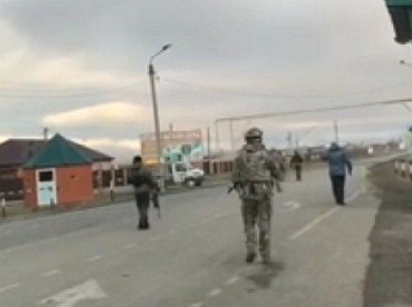 Опубликовано видео взрыва смертницы из Челябинска на КПП в Грозном