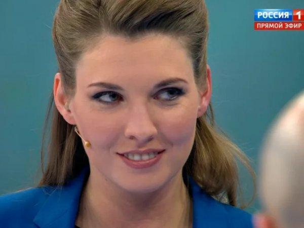 """""""Закончится минут за 15"""": Скабеева осадила эксперта из Украины, предложившего отправить воевать ее мужа"""