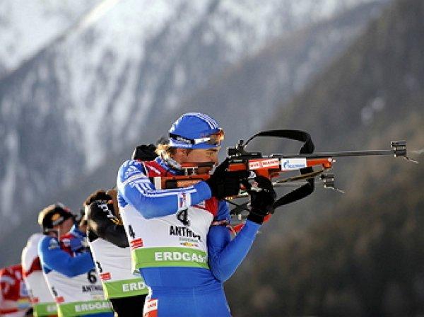 Российские биатлонисты вновь попали в скандал с допингом