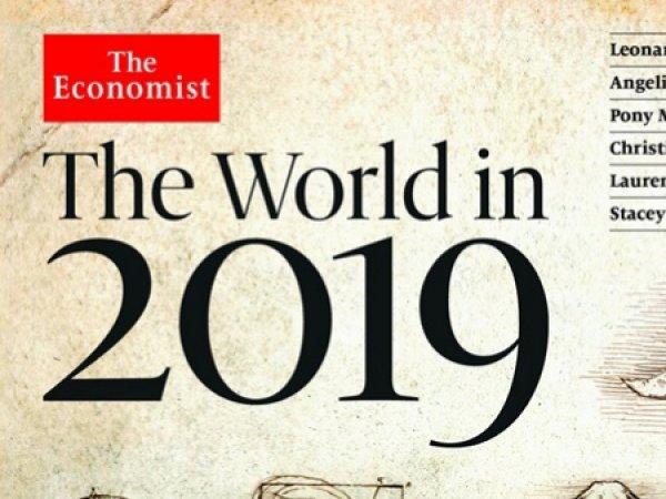 """Пророчество Ротшильдов на 2019 год: """"расшифрована""""  обложка-ребус The Economist"""