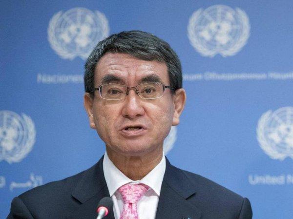 Глава МИД Японии четыре раза проигнорировал вопрос о мире с РФ