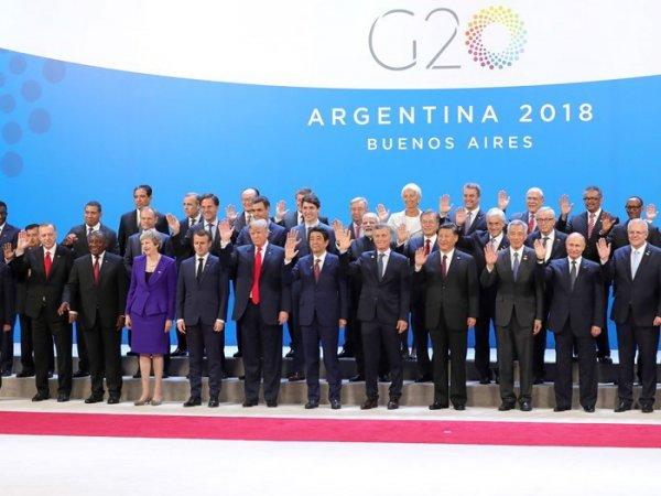 В Сети появилось видео с приветствием Путина на саммите G20