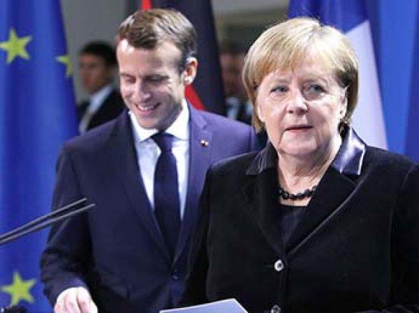 Меркель и Макрон потребовали от России освободить украинских моряков
