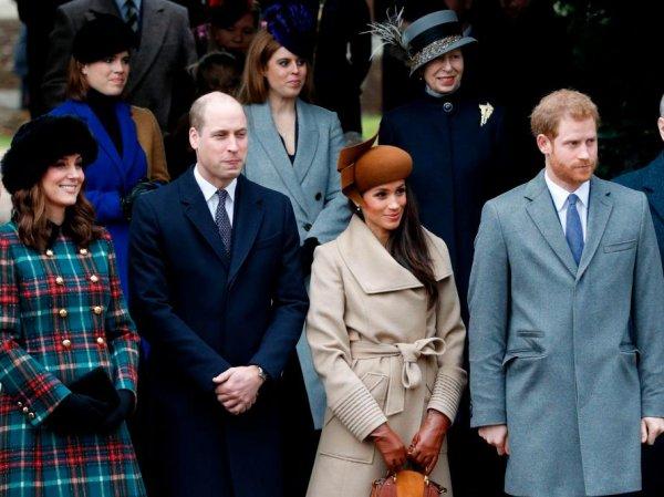 СМИ: принцы Гарри и Уильям крупно поссорились из-за Меган Маркл