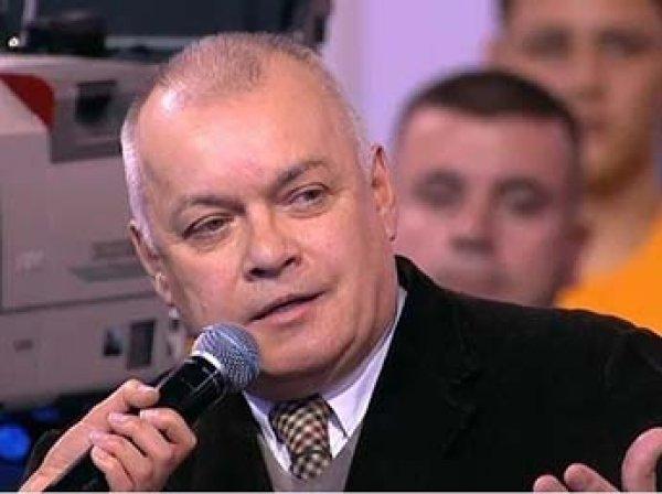 """Киселев объяснил свои слова о """"порезах на коже"""" Фельгенгауэр"""