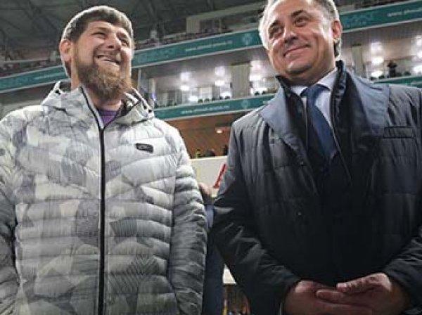 """""""Он всегда мне будет мстить"""": Кадыров публично разнес Мутко за отношение к Чечне (ВИДЕО)"""