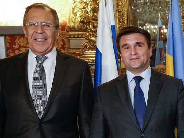 Климкин устроил демарш перед выступлением Лаврова в ОБСЕ