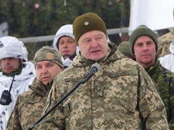 Порошенко отправил к границе с Россией десантно-штурмовые войска