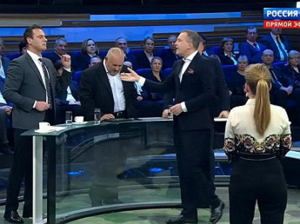 """""""Как вы меня назвали?"""": ведущий «60 минут» выгнал из студии украинского политолога"""