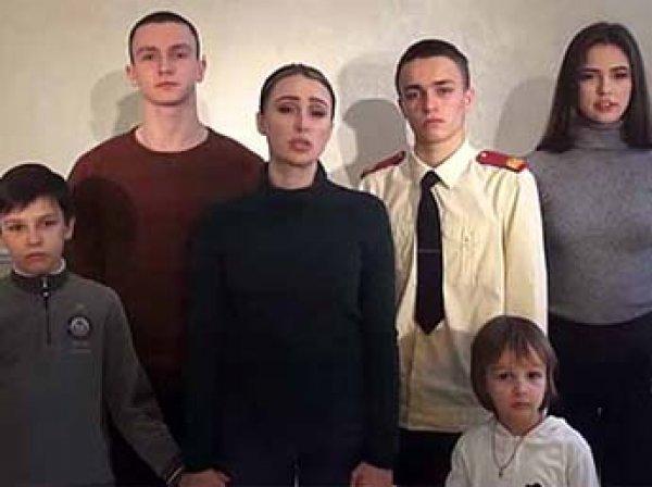 Пятеро детей экс-главы Серпуховского района  Шестуна просят Путина на видео вернуть им отца