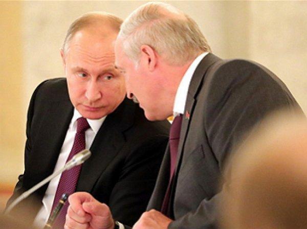 """""""Пришлось извиняться"""": Лукашенко в """"нехорошей форме"""" требовал у Путина снижения тарифов на газ"""
