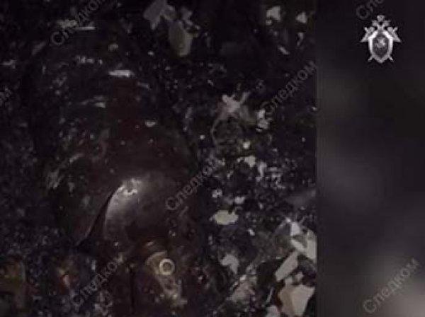 СКР показал видео из квартиры в Балашихе, где заживо сгорели люди