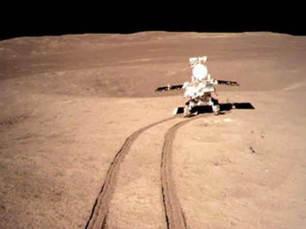 Появилось видео посадки китайского зонда на обратной стороне Луны