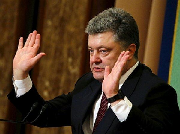 Рейтинг Порошенко рекордно взлетел перед выборами на Украине