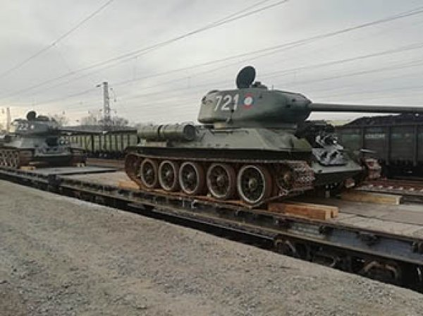 Лаос вернул России тридцать танков Т-34