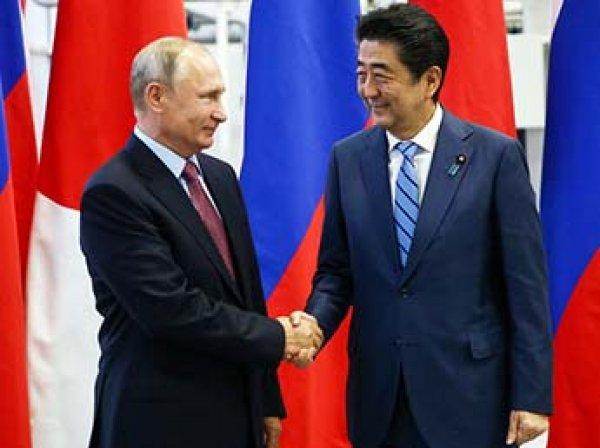 Японский премьер Абэ приехал к Путину за Курилами