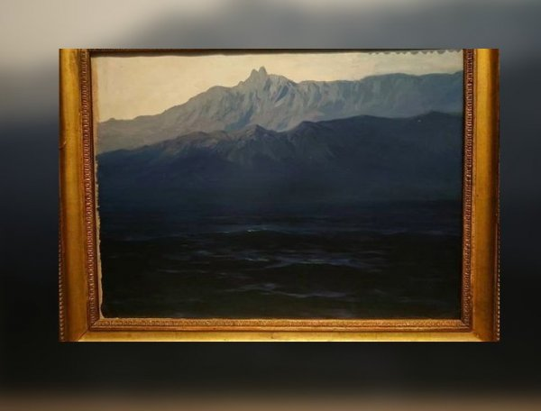 Из Третьяковки на глазах посетителей украли картину Куинджи: похититель попал на видео