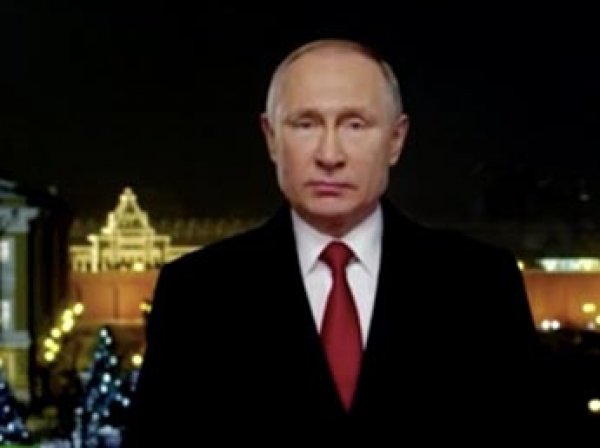 """Британские СМИ назвали """"дерзким"""" новогоднее поздравление Путина"""