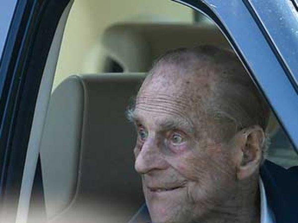 """97-летний супруг Елизаветы II попал в ДТП и """"дунул в трубочку"""""""