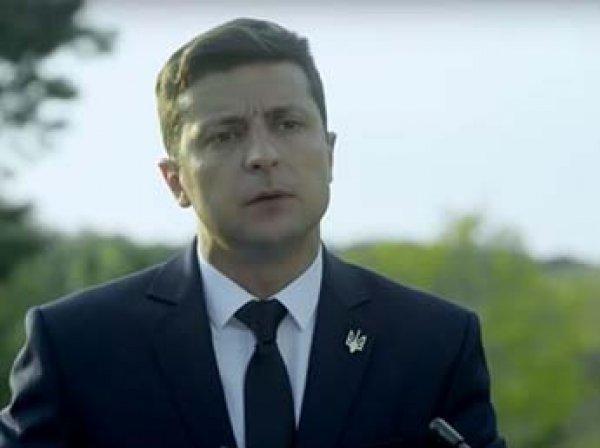 Зеленский стал кандидатом в президенты Украины и обратился к избирателям из тюрьмы