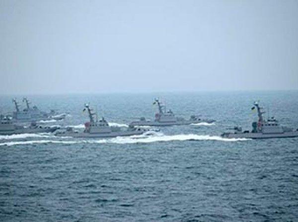 ВМС Украины открыли огонь по кораблю в Черном море
