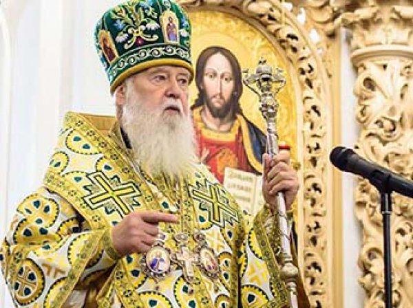 """Филарет рассказал о связи """"новой церкви"""" Украины с СБУ"""