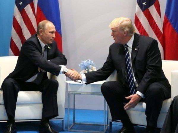 СМИ рассказали о тайной встрече Путина и Трампа