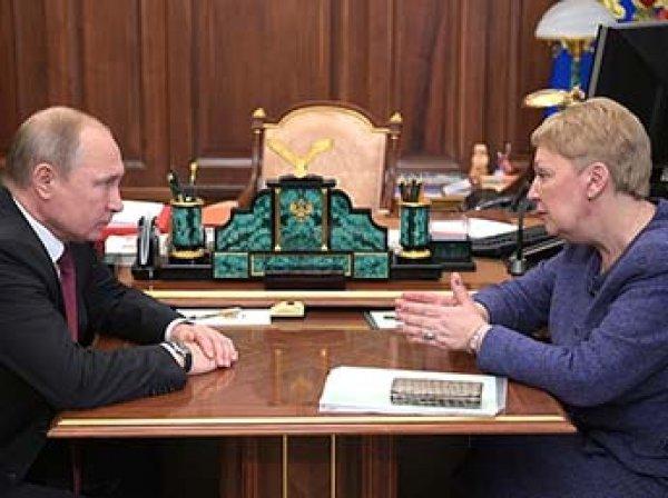 """За зарплатой следите"": Путин осадил министра образования"
