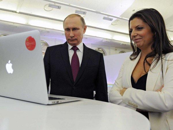 Симоньян рассказала, как отметила 25-летие с раками на даче у Путина