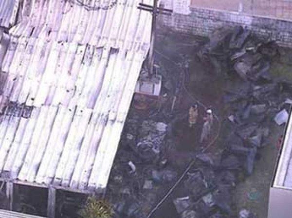 """Десять человек сгорели заживо при пожаре на базе футбольного клуба """"Фламенго"""" в Бразилии"""