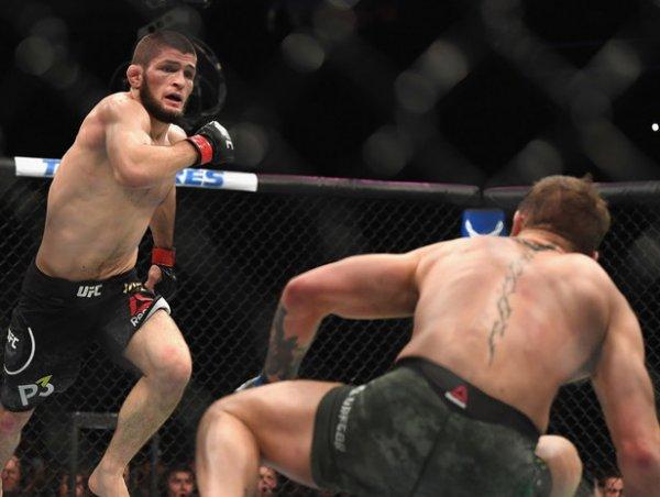 """""""Уайт, где бонус?"""": Нурмагомедов назвал удар Макгрегору со спины лучшим на UFC 229"""