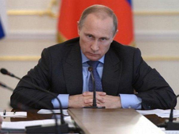 Путин уволил девять генералов силовых ведомств