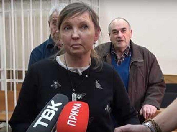 В Красноярске активистку оштрафовали на 170 тысяч рублей за пинок полицейского на митинге