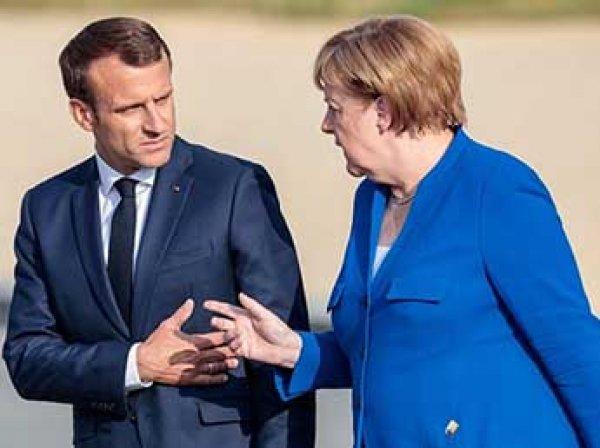 """""""Такого не было с войны"""": Макрон наотрез отказался от выступать с Меркель"""