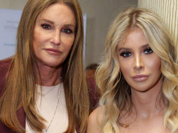 Ставший женщиной отчим Ким Кардашьян женится на трансгендере-блондинке
